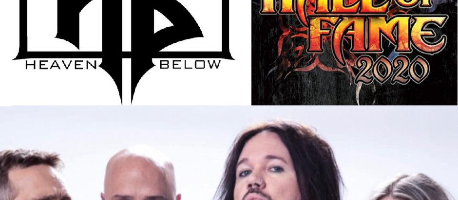 Los Angeles Metal group HEAVEN BELOW to perform at 2020 Metal Hall of Fame