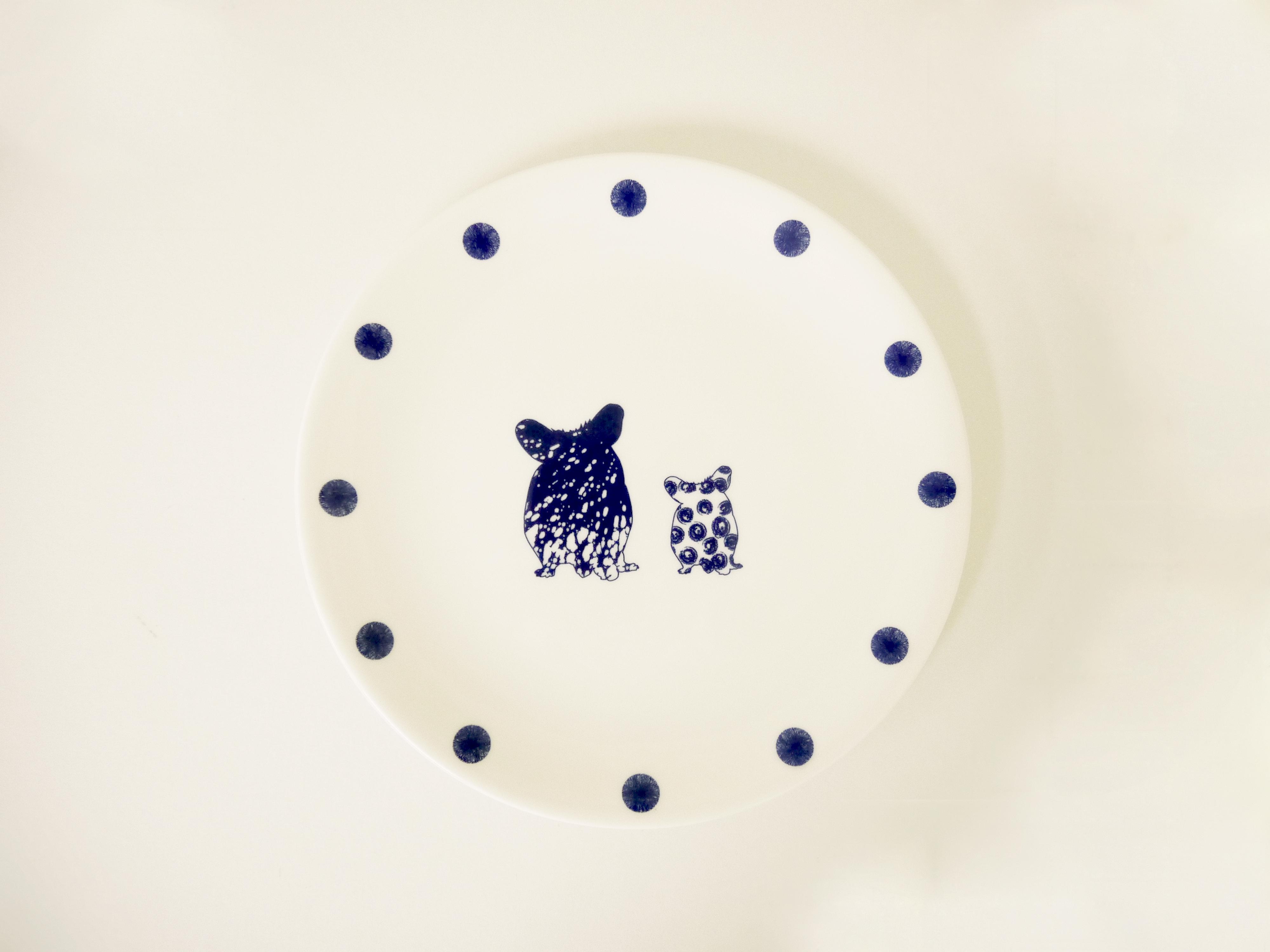 Hamsters Plate