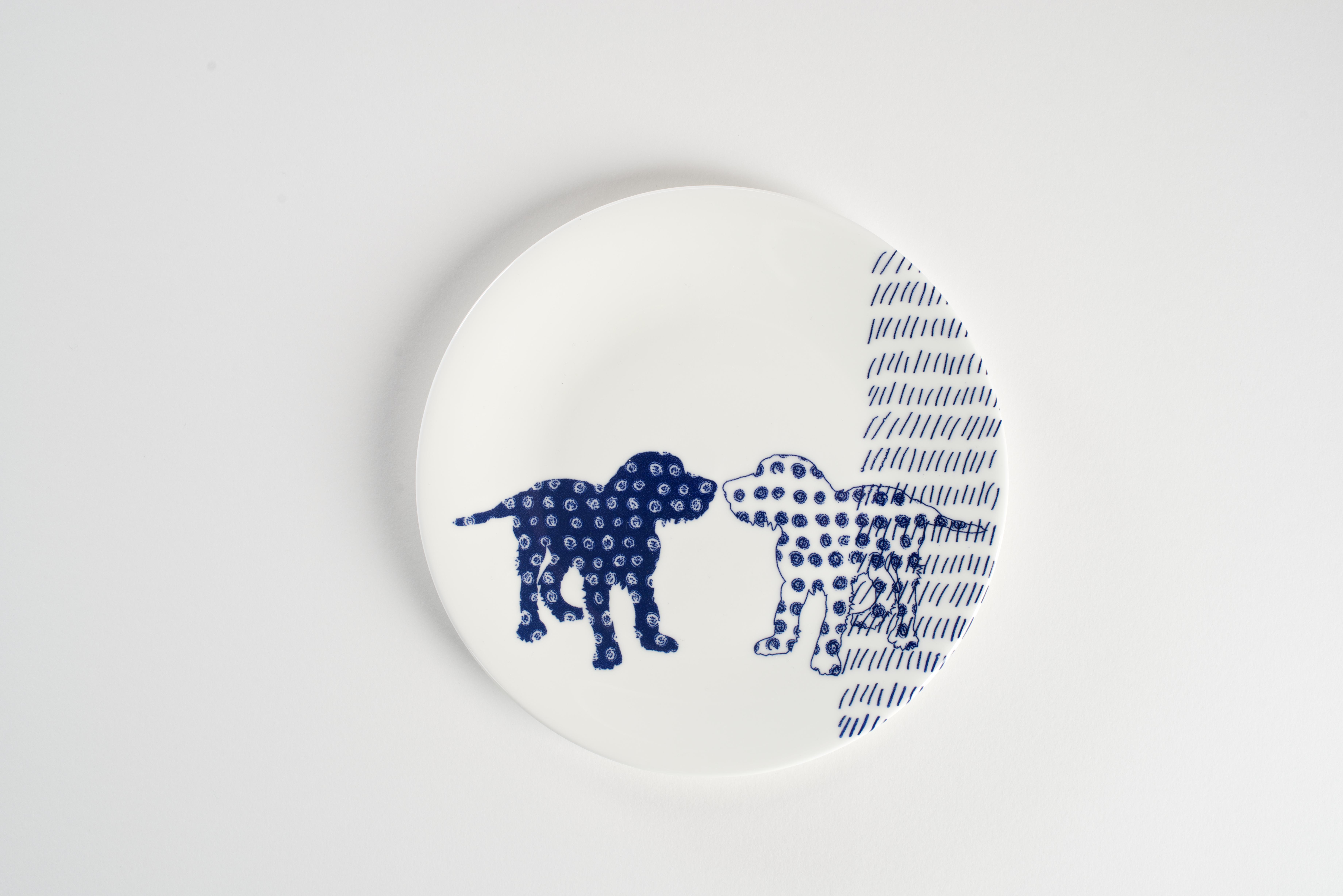 Dog Side Plate