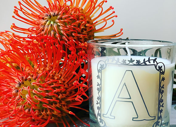 Scented Alphabet Candle