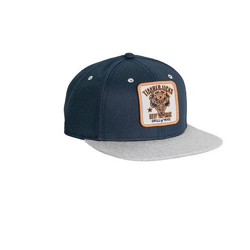 Basecap Mountain Lion Navy Grey