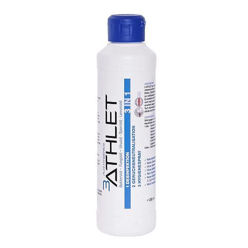 3ATHLET Desinfektion Flasche a 250 ml
