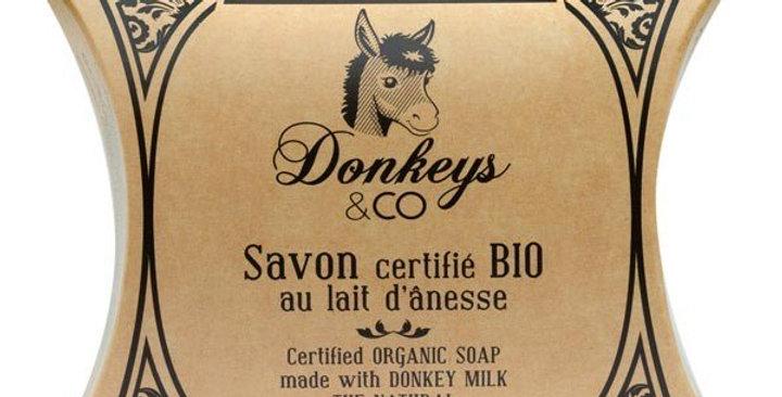 Jabón Bio Pastilla Leche Burra Donkeys