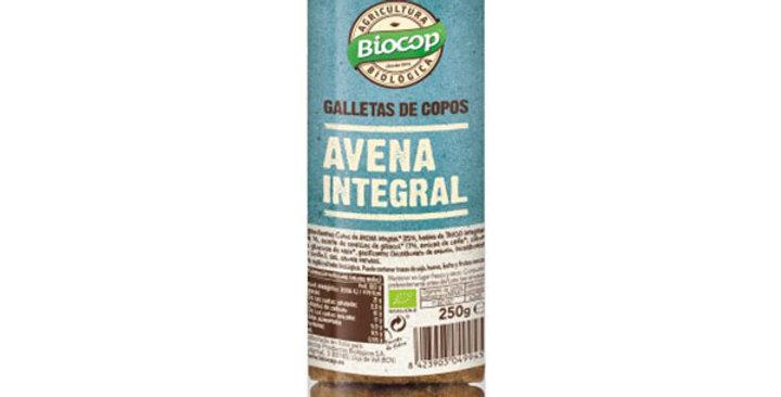 Galleta con copos de avena Biocop 250 gr.