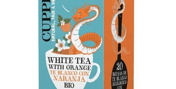 Infusión té blanco con naranja Cupper