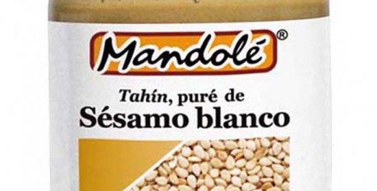 Tahin Blanco  (100% Sésamo) Bio Mandole 325g