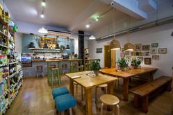 Interior cafeteria Terrae.