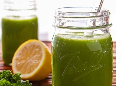 Batidos verdes con extra de espirulina o chlorella