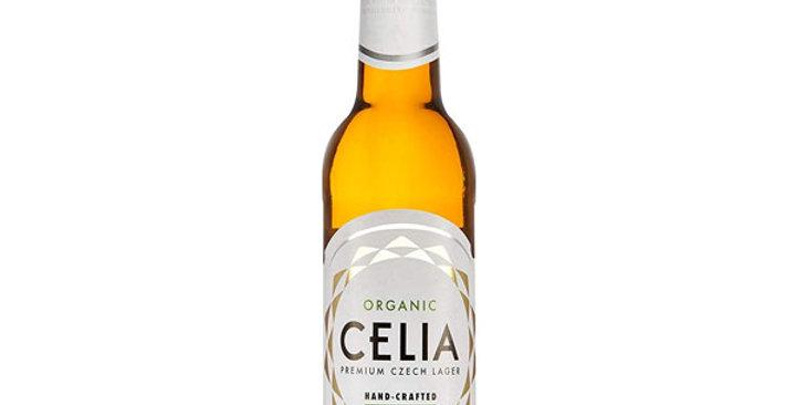 Cerveza sin Gluten Premium Lager Celia 33 Cl.