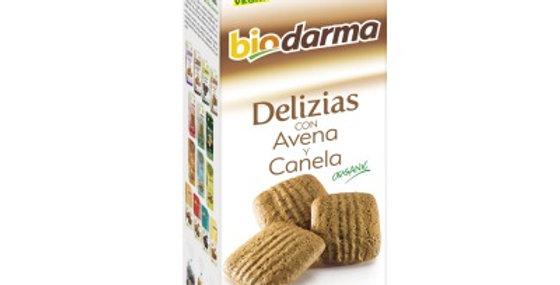 Galletas Avena Canela