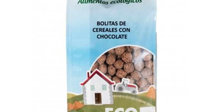 Bolitas de Cereales con Chocolate,  Enbio