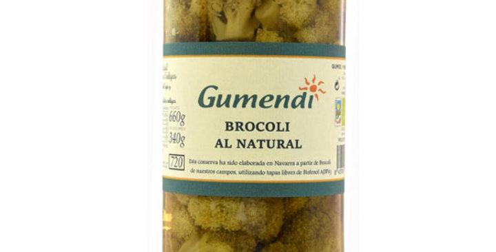 BROCOLI AL NATURAL GUMENDI 660 GR.