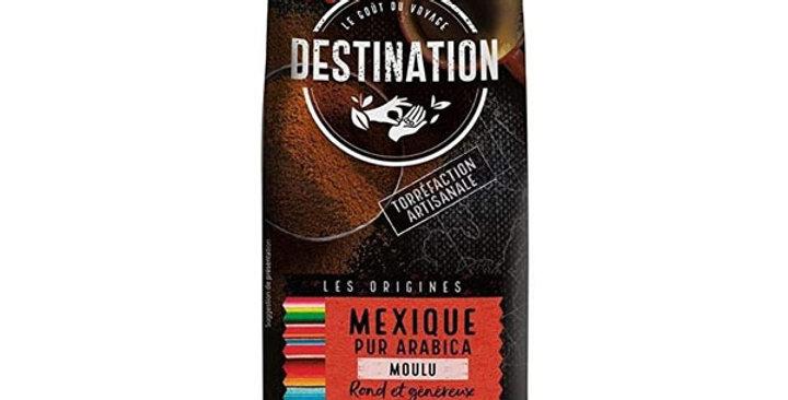 Café Molido México Chiapas 100% Arábica , DESTINATION 250 gr