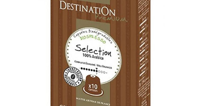 CAFE SELECCION Nº1  DESTINATION 10 CAPSULAS