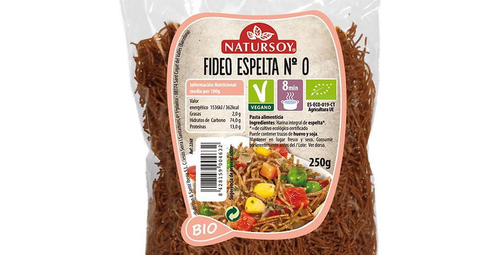 Fideo Espelta Nº0 Natursoy
