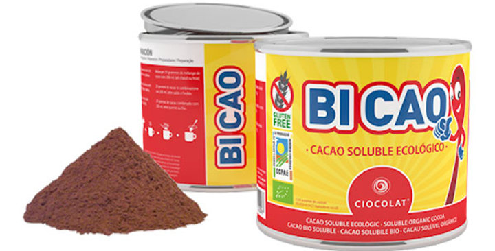 CACAO SOLUBLE LATA BICAO 400 GR.