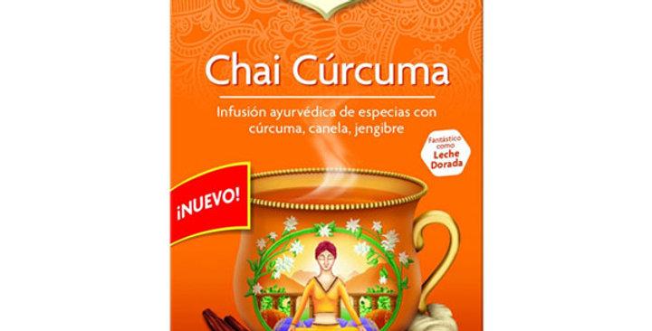 Chai Cúrcuma,  YOGI TEA 17 Bolsitas