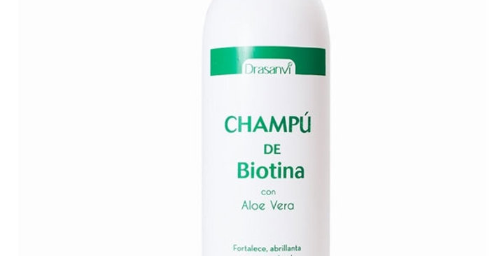 CHAMPU BIOTINA Y ALOE VERA DRASANVI 1L.