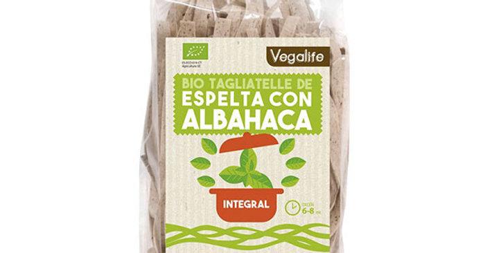 Tagliatelle de espelta con espinacas Vegalife 250 gr.