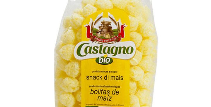 Bolitas de maiz snacks Castagno 50gr.