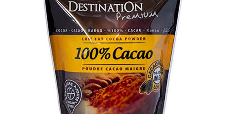 CACAO PURO 100% DESTINATION 250 GR.