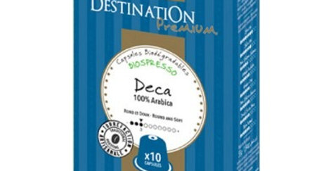 Café Descafeinado Selección Nº9 ,  DESTINATION 10 Capsulas