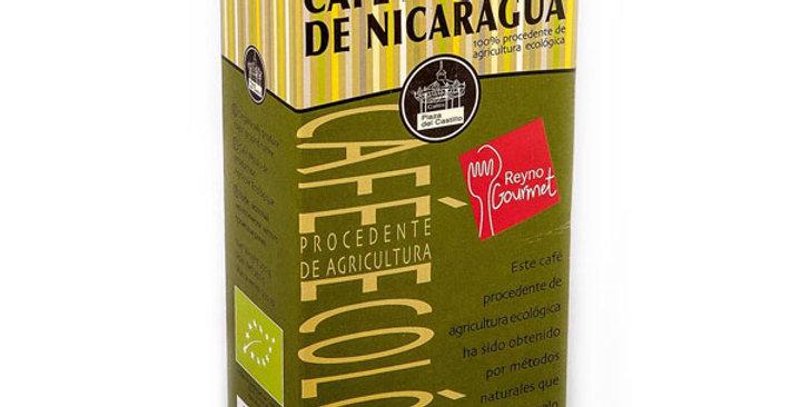 CAFÉ MOLIDO NATURAL NICARAGUA PLAZA DEL CASTILLO 250 GR.