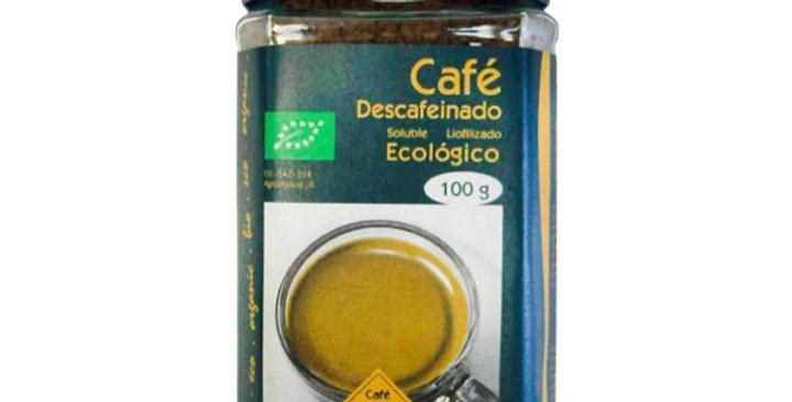 CAFÉ DESCAFEINADO LIOFILIZADO SOLUBLE CAVALLE 100 GR.
