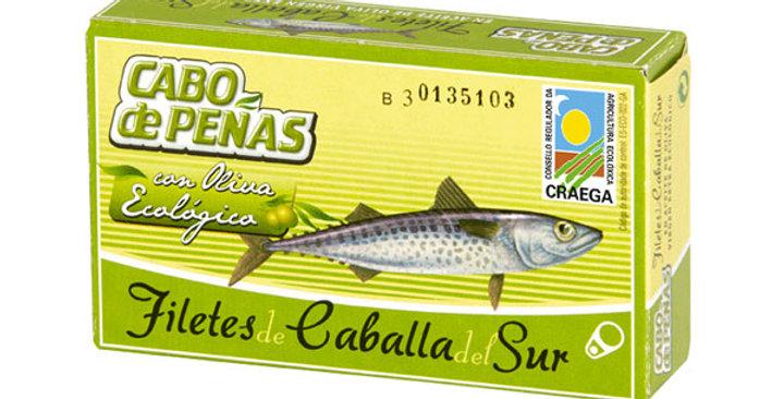 Caballa Filetes Lata Aceite de Oliva,  Cabo Peñas 53 Gr.