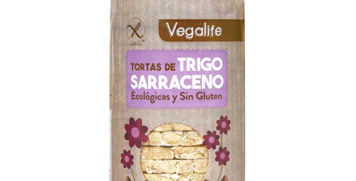 Tortas de trigo sarraceno sin gluten Vegalife 100 gr.