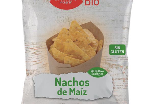 Nachos de maíz bio El Granero Integral 125g.