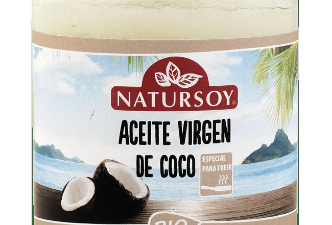 Aceite de coco desodorizado Natursoy 400 g