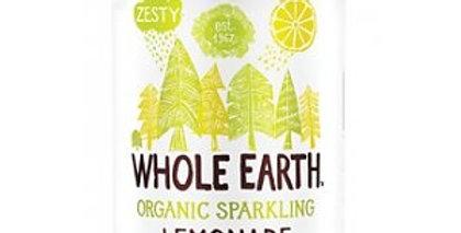 Refresco de limón bio Whole Earth 330ml.