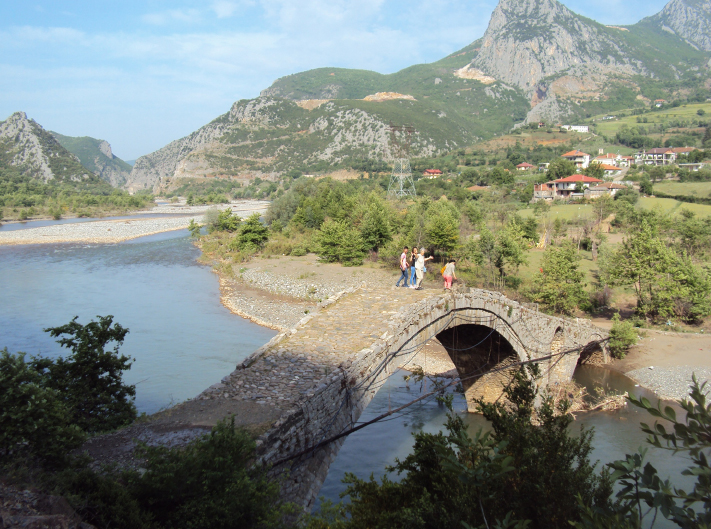 Bridge in Albania