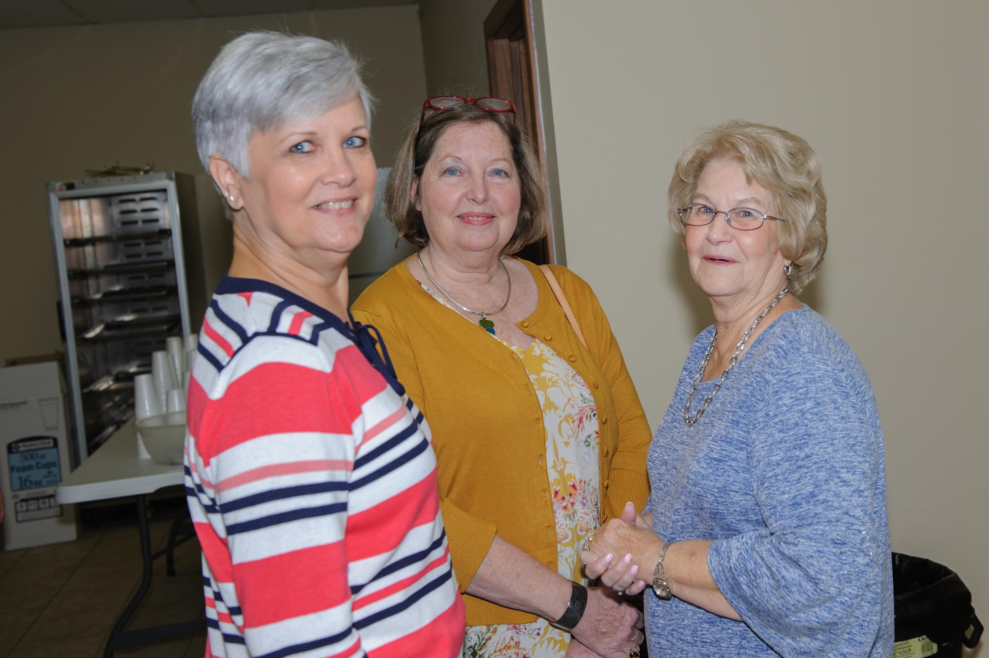 Sharon, Judy and Kathy