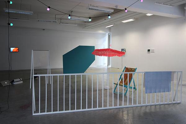 installation, louise porte, artiste, art contemporain