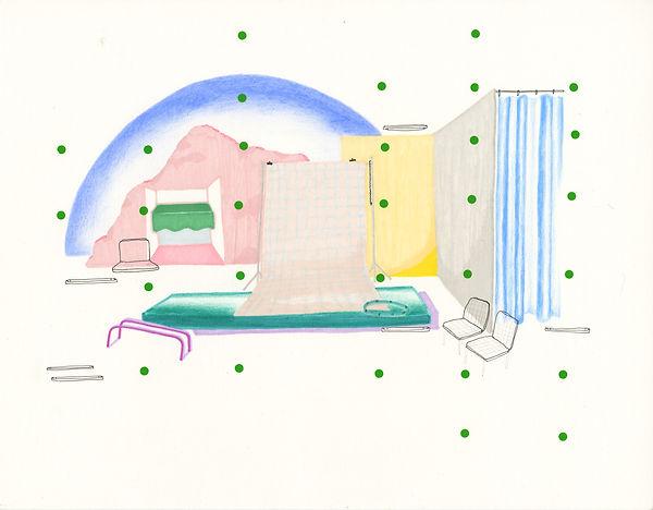 louise porte,artiste, art contemporain, photographie , dessin