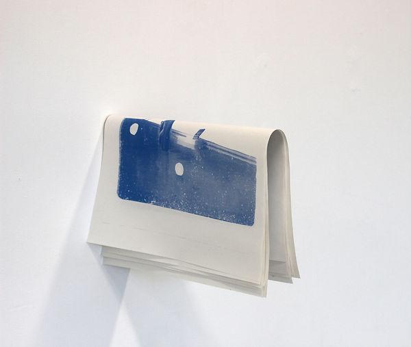 installation, louise porte, artiste, art contemporain, sérigraphie