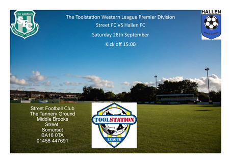 HOME MATCH THIS SATURDAY