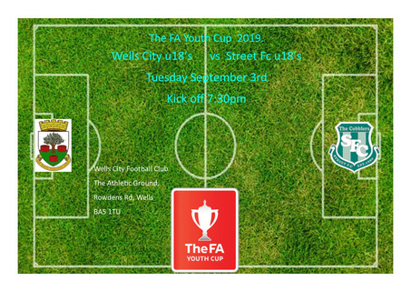 MATCH DAY FOR OUR U18'S