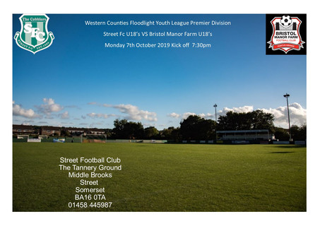 MATCHDAY FOR THE U18'S