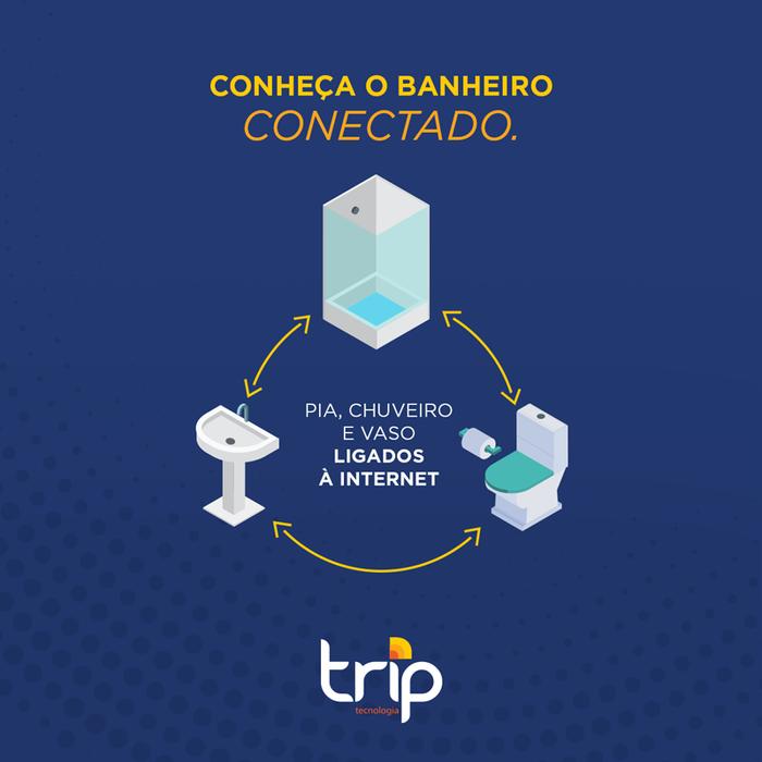 Conheça o banheiro conectado: pia, chuveiro e vaso ligados à internet