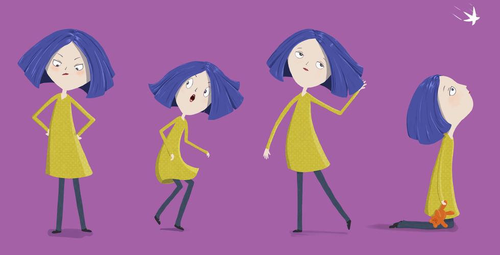 Character design girl