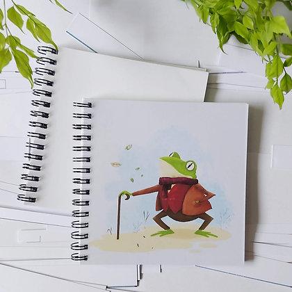 Mr Frog notepad