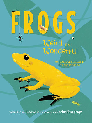 Frogs: Weird and Wonderful picturebook