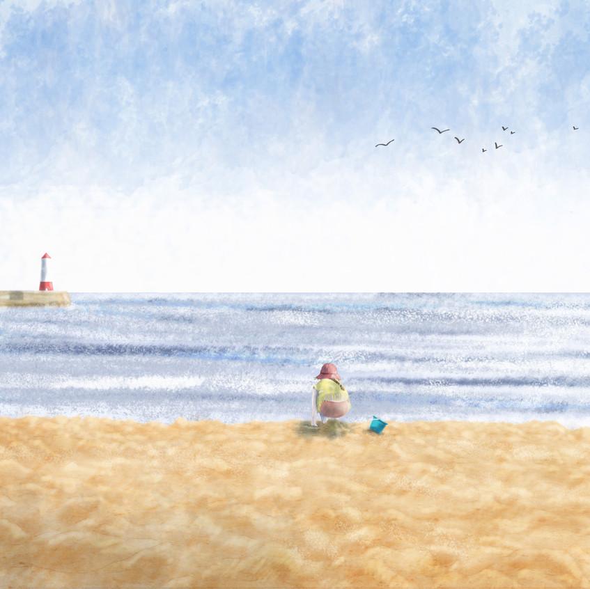 Spittal Beach, Berwick upon Tweed