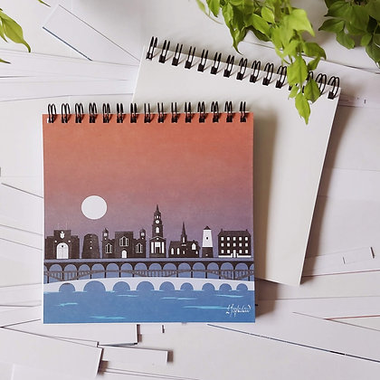 Berwick upon Tweed landmarks notepad