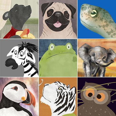 Face your art challenge 2020 animals.jpg