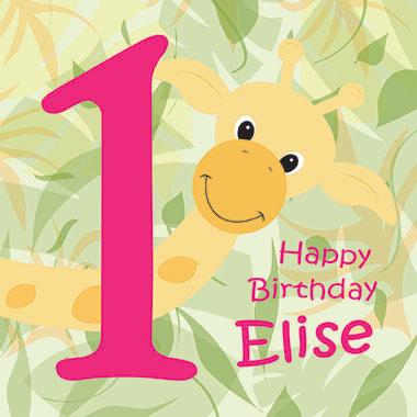 Happy birthday Elise