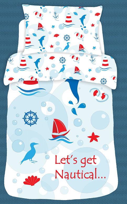 Let's get nautical duvet set